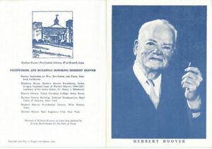 1269-First-Day-Souvenir-Program-5c-Herbert-C-Hoover-Stamp