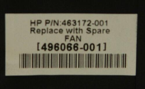 Lot of 2 HP 496066-001 Proliant DL380 G6 G7 DL385 G5P System Fan 463172-001
