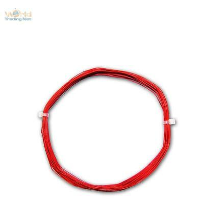 (0,28 M) 10m Dekoderlitze Rosso Flessibile 0,5mm/0, 04mm ² Filo Lytze Cavo