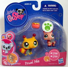 2009 MIB Littlest Pet Shop Mommy & Baby BUMBLE BEEs 1798 1799 FREE SHIP