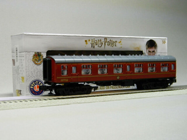 LIONEL HOGWARTS DEMENTORS w/SOUNDS COACH CAR O GAUGE Harry Potter 6-84767 NEW
