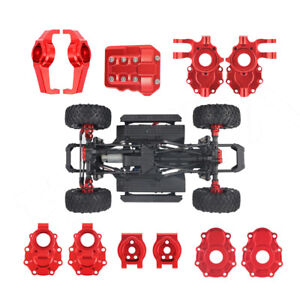RC Upgrade Metal Axle Housing Set Replacement for Traxxas TRX4 RC1:10 Car