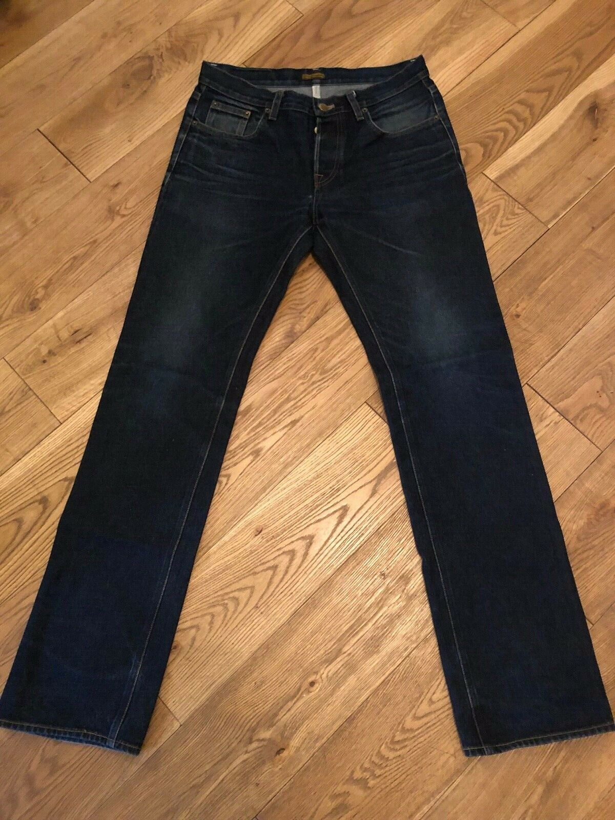 Ande Whall Grifter Denim Jeans Size 33 (84cm) Indigo 2007, One of 14 Pairs, RARE