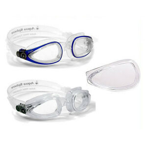 662071bdd8 Image is loading Aqua-Sphere-Eagle-Interchangeable-Swimming-Goggles-Optical- Lens-