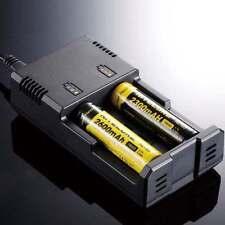 Lithium Ladegerät Akku FOR 3,7V 18650 26650 CR123A AAA Batterie Li-ion Ni-Cd