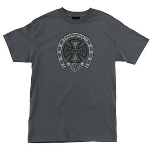 Independent-Trucks-F-LUCK-Skateboard-Shirt-CHARCOAL-XXL