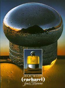 Non Eau Toilette De Cacharel Homme Ancienne Pour Publicité Parfumé Parfum Détails Sur c3L4SAq5Rj