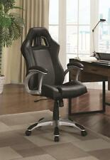 Black and Gray Adjustable Office Task Chair Ventilation by Coaster 800046