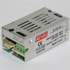 Ac 110v 220v To Dc 12v 15w 125a Universal Regulated Switching Power Supply
