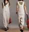 ZANZEA-Womens-Sleeveless-Round-Neck-Casual-Loose-Jumpsuits-Playsuits-Long-Pants thumbnail 10