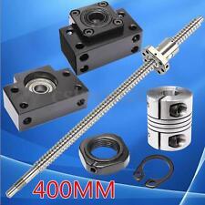 Antibacklash Ball Screw SFU1605 L400mm-C7 & BK/BF12 + 6.35x10mm Couplers Set Kit