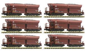 Fleischmann-N-6-Selbstentladewagen-034-Faalns-150-034-der-DB-aus-852702-NEU-OVP
