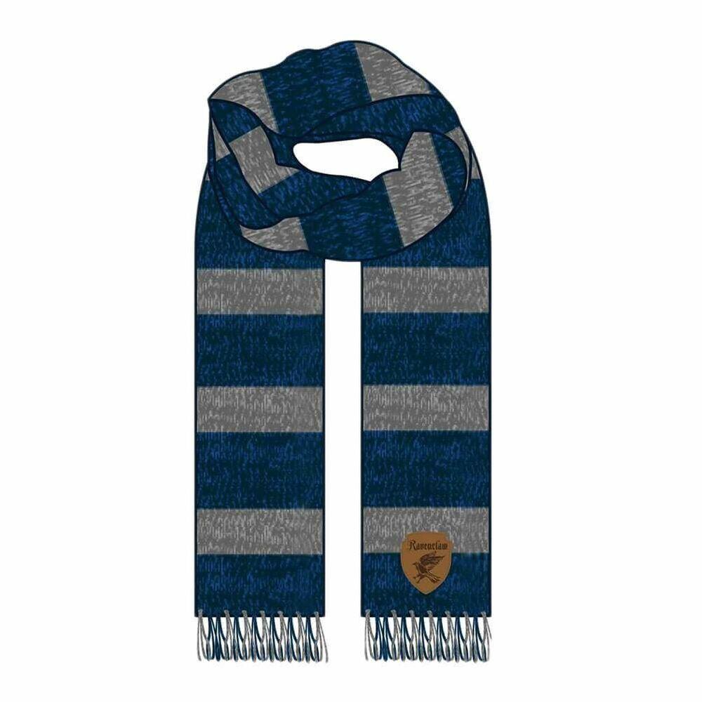 Sur De Soi Harry Potter Ravenclaw House Jacquard Winter Kitted Scarf - One Size Hogwarts Achat SpéCial