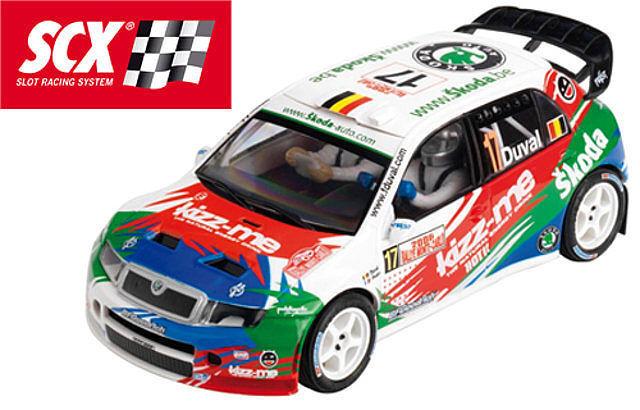 SCX 64590 Skoda FAbia WRC DUVAL ( Tecnitoys) New New 1 32