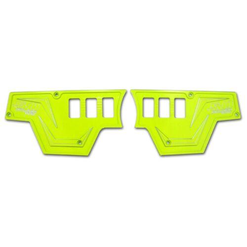 XP1000 3 Piece Dash Panel ONLY Lime Squeeze Polaris RZR Custom CNC 4 Door SXS