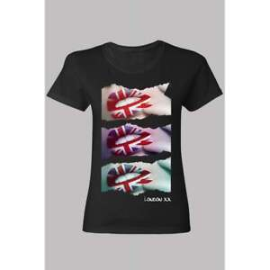 Shirt Details Lips Zu Jack T Ladies Skinny Black Union tBQxoshdrC