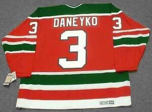 check out 2dabd 48543 Details about KEN DANEYKO New Jersey Devils 1988 Away CCM Vintage Throwback  NHL Hockey Jersey