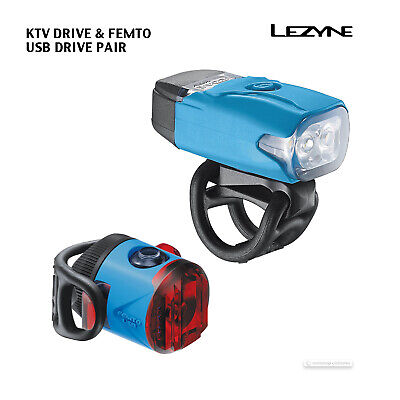 Multiple Color Options Lezyne KTV Drive Bicycle Rear Tail Light Brand New