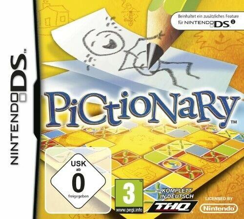 Nintendo DS jeu - Pictionary dans l'emballage utilisé