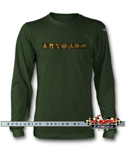 Multiple Colors and Sizes Sport Mode Dash Lights Long Sleeves T-Shirt