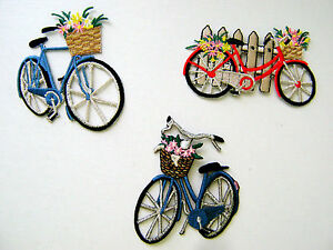 BIKE-SPORT-CYCLING-MEN-or-LADY-BICYCLE-EMBROIDERED-IRON-ON-APPLIQUE-PATCH