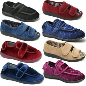 Ladies Wide Fit Slippers Ladies Extra