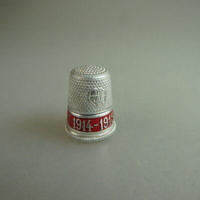 47416 Settmacher Fingerhut Rocailienbordüre Aluminium