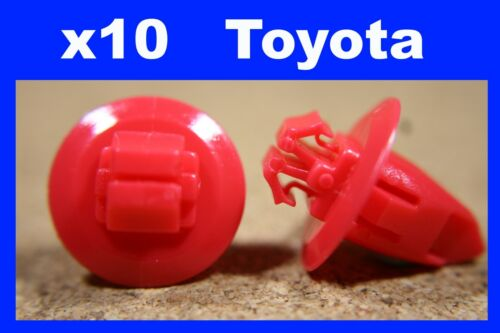 For Toyota 10 wheel arch flare panel lining cover mud guard flap fastener clips