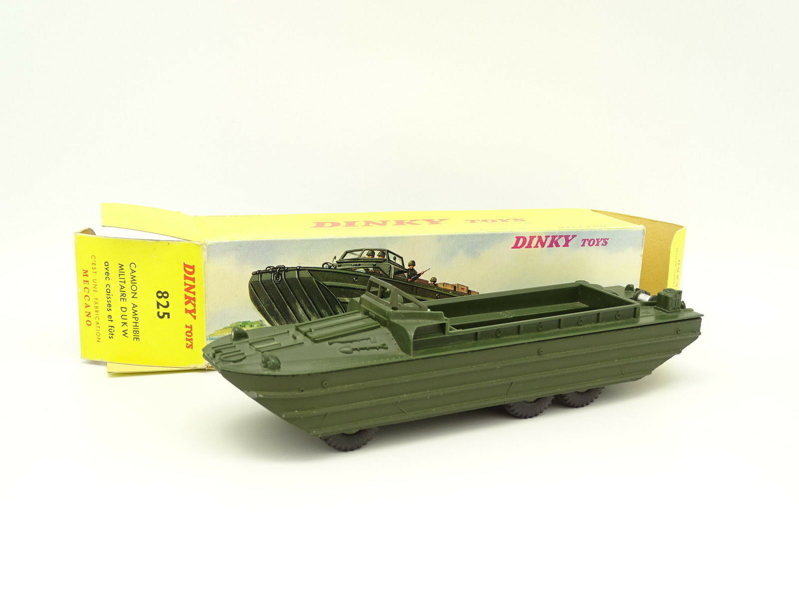 Dinky Toys France Militaire 1 43 - GMC DUKW Amphibie 825