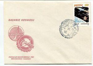 1979 Badanie Kosmosu Polska Pierwszy Dzien Obiegu Fdc Interkosmos Space Nasa Pour Revigorer Efficacement La Santé