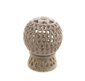 Fat Candle Tealight IN Stone All Flowers Peterandclo India 8887
