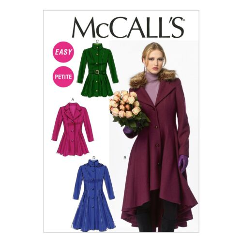 Mccalls patrones de corte m6800-chaqueta-Mantel-glockiges opaco