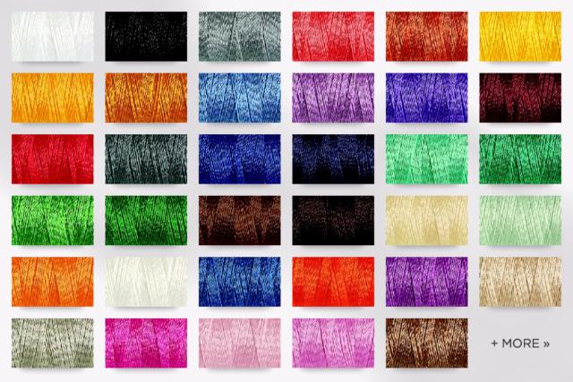 Gutermann Sulky Cotton Thread Set Cotton 12 or Cotton 30 Red Yellow Pink Purple