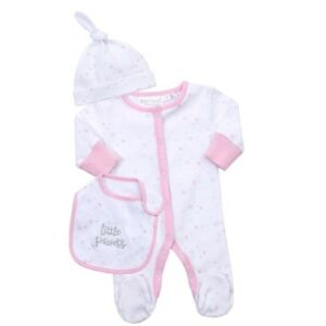 Girls' Clothing (newborn-5t) Baby Girl Sleepsuits 0-3 Months X 5 One-pieces