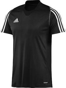 adidas-Maenner-T-Shirt-schwarz-Herren-Laufshirt-Sportshirt-Gr-XS-S-M-L-XL-XXL