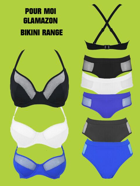 Womens Glamazon Convertible U//W Bikini Top Pour Moi