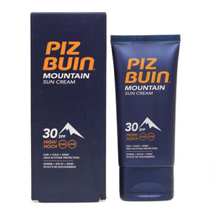 Piz Buin Mountain Sun Cream Lotion Spf 30 Uva Uvb 50ml Damaged Box Ebay