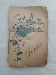 Poesie-Album-Wishes-To-Liebe-Martha-28-Wishes-In-56-Pages-Original-1899