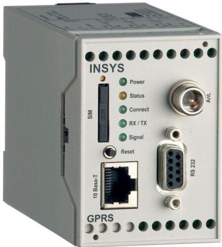 Insys GPRS//EDGE 5.0 Ethernet Router//Modem Hutschiene SIM GSM NUOVO IN CONFEZIONE ORIGINALE!!!