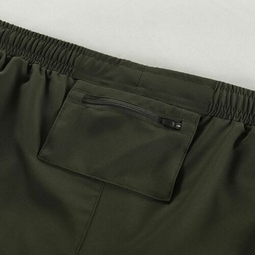 Men/'s Running Shorts 2 In 1 Dry Fit Compression Gym Shorts With Pocket And Rope