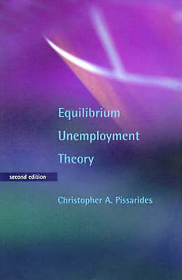 Equilibrium Unemployment Theory, Pissarides, Christopher A, Used; Good Book