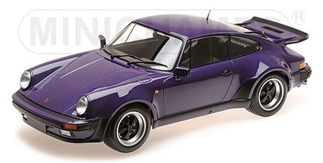 125066120 MINICHAMPS 1 12 Porsche 911 Turbo 1977 purpleC Purple