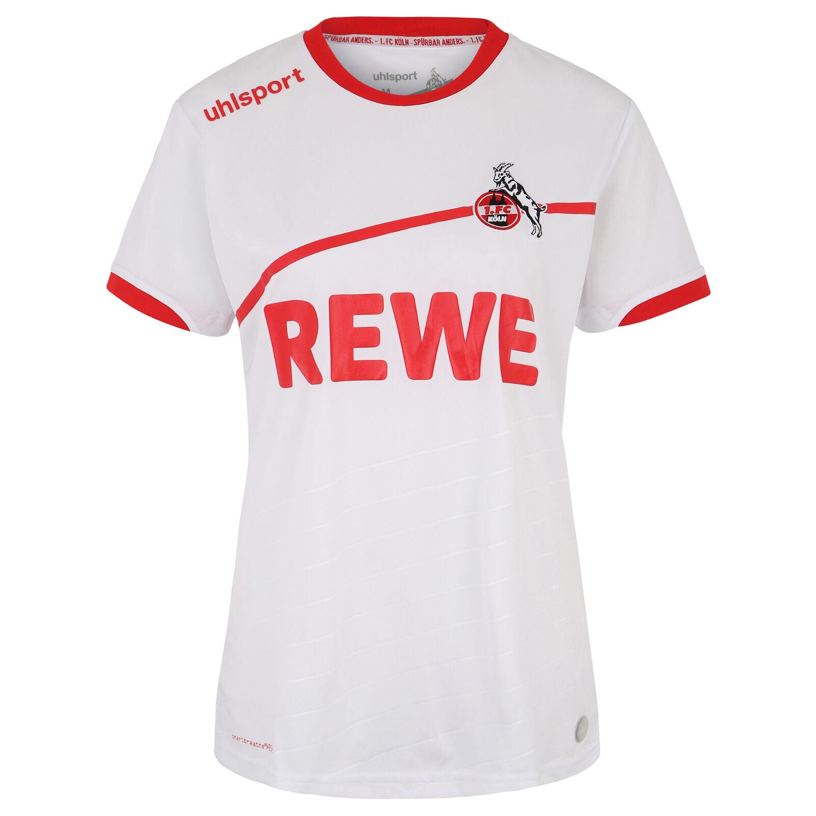 Uhlsport 1. FC Köln Trikot Home 2018/2019 Damen Weiß NEU