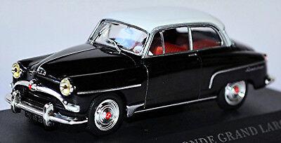 Model Building Simca Coach Aronde A90 Grand Large 1955-58 Black Black 1:43
