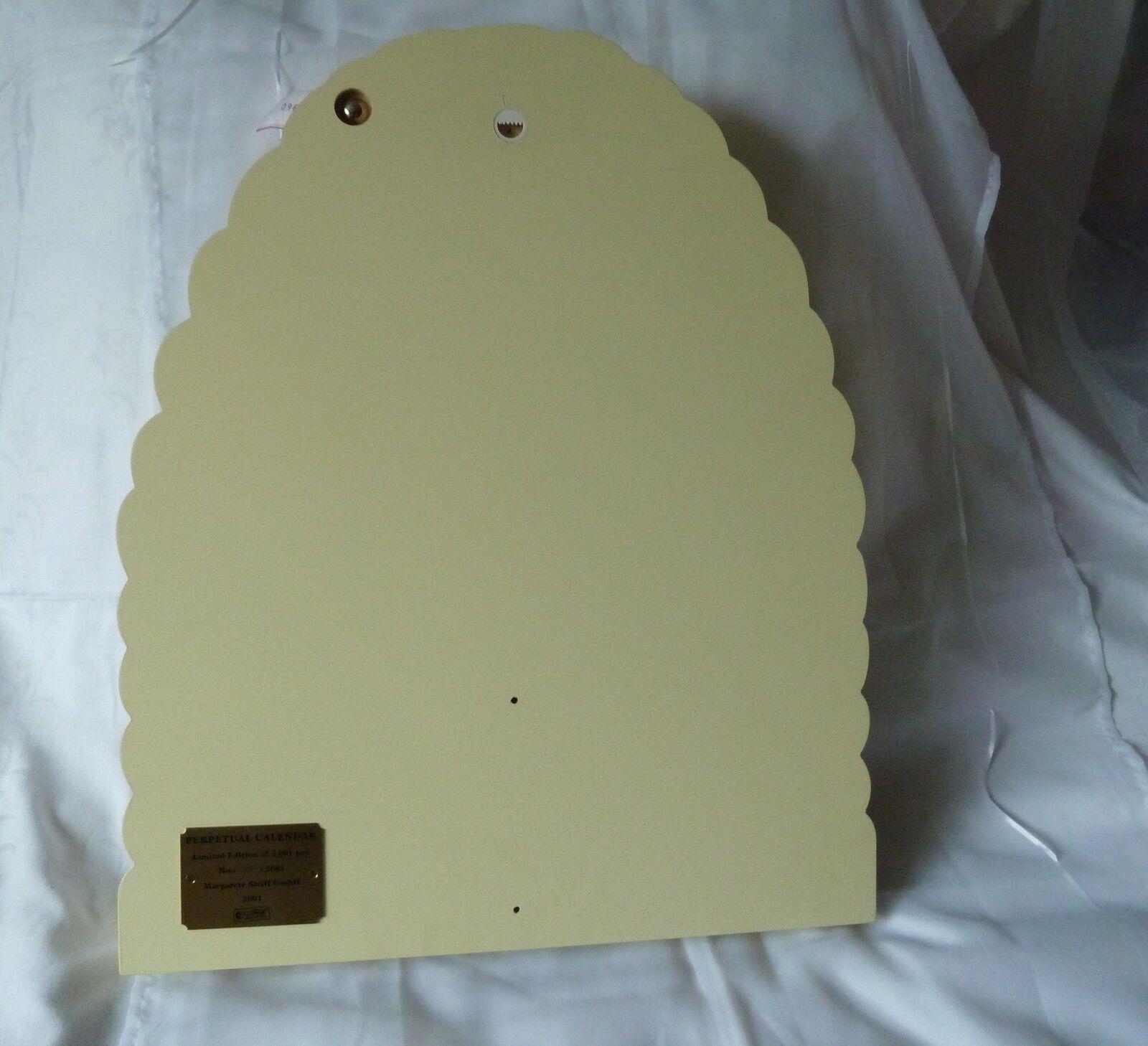 Steiff Ewiger Kalender Bienenkorb 027307 027307 027307 ohne Teddybären Holz limitierte Auflage df75b8