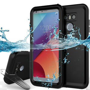 half off 44066 ec286 Details about LG G6 Waterproof 9.8ft Underwater Shockproof Dirtproof Hard  Full Cover Amor Case