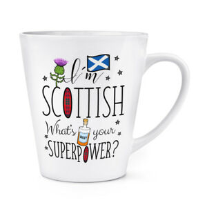 I-039-m-Scottish-What-039-s-Your-Superpower-12oz-Latte-Mug-Cup-Scotland-Rugby