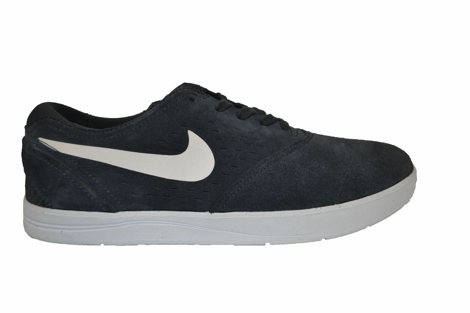 Nike ERIC KOSTON 2 Anthracite blanc Suede 580418-001 Skate  Hommes  Chaussures