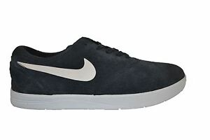 Nike ERIC KOSTON 2 Anthracite White Suede Skate Discounted (256) Men's Shoes