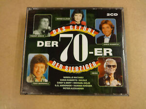 2-CD BOX / DAS GEFUHL DER 70-ER / DER SIEBZIGER